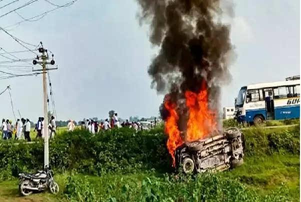 Accedent lakhimpur